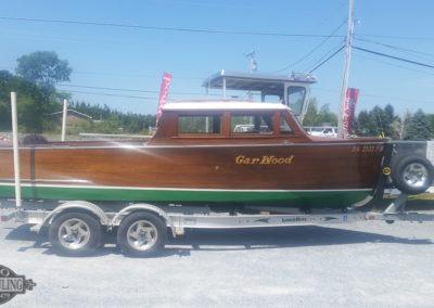 Boro Boat Hauling-wooden boat